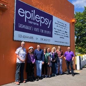 Epilepsy Tasmania Staff and Friends