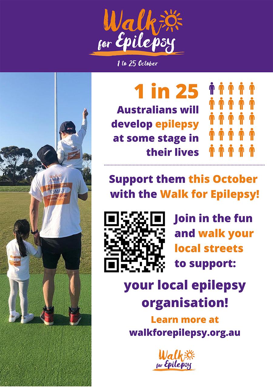 Poster - Walk for Epilepsy Recruitment 2